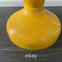 1960's Rocchetto Yellow Table Achille Pier Giacomo Castigioni for Kartell Italy