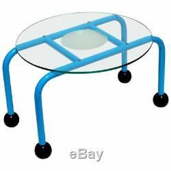 1980s Postmodern Coffee Table Memphis Style