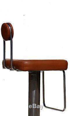 2 Birillo Stools Joe Colombo for Zanotta Bistrò original 70s design vintage