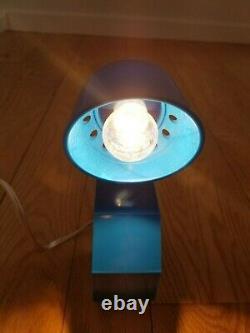 80s POST MODERN ADJUSTABLE BOLT TABLE LAMP SPOT LIGHT MEMPHIS SOTTSASS STYLE
