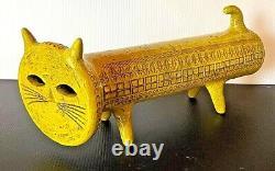 ALDO LONDI YELLOW CAT RARE LIMITED EDITION BITOSSI Made in Italy
