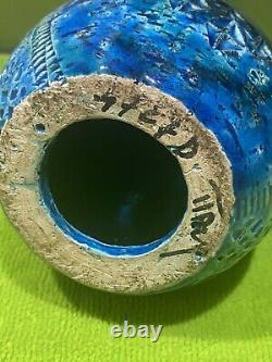 Aldo Londi Bitossi Rimini Blue Italian Mid Century Modernism Pottery Penguin