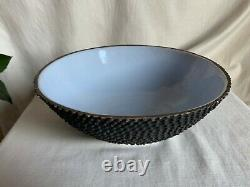 Aldo Londi, for Bitossi. Ceramic bowl late 1950s. Signed and numbered B145 A