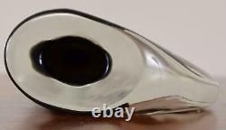 Antonio da Ros Momento Vase Sommerso Glass Cenedese Murano Italy Signed