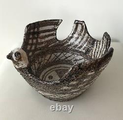 Bitossi Aldo Londi Bird Bowl Moderna Marocco Rosenthal Netter Mid Century