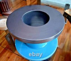 Ettore Sottsass Vase 548 Turquoise Bitossi Made in Italy