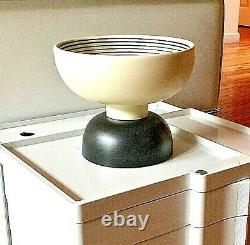 Ettore Sottsass Vase Bowl Alzata 500 Pottery Bitossi Memphis Made In Italy