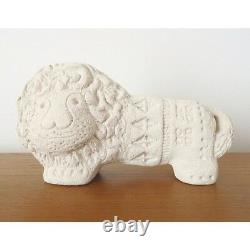 Flavia Italian Pottery Lion Figurine Bitossi by Aldo Londi