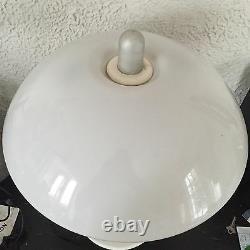 Harvey IGuzzini Vintage Table Lamp Mid Century Light Italian Design Mushroom UFO