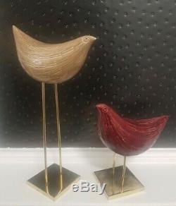 ITALIAN ART POTTERY RAYMOR BITOSSI ALDO LONDI BIRDS fantoni gambone sottsass