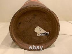 Italian Rosenthal Netter Mid Century Modern Art Pottery Tall Vase 12 1/4 Tall