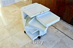 Joe Colombo Vtg Mid Century Modern Plastic Boby Cart Organizer Kartell Trolley