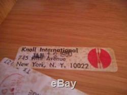 Knoll Rosewood & Italian Carrara Marble-Top Credenza Dresser