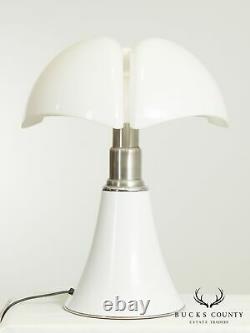 Martinelli Luce'Pipistrello' Pair Italian Table Lamps by Gae Aulenti