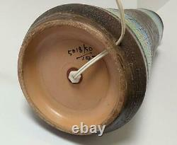 Massive Vintage Bitossi Italian Pottery Lamp MID Century Aldo Londi