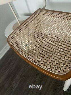 Mid Century Modern Marcel Breuer Style Cane Cesca Cantilever Vintage Chair
