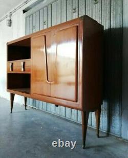 Mid century Osvaldo Borsani bar cabinet italy 1950s