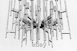 Midcentury italian Gaetano Sciolari chandelier, circa 1960