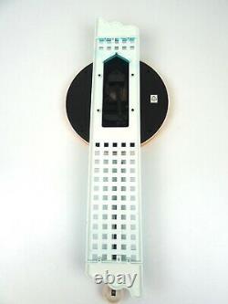 POSTMODERN 1980s VINTAGE MEMPHIS SOTTSASS PENDULUM WALL CLOCK BY MEBUS