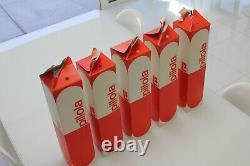 Pillola Italian Lamps, Mid Century Modern 60s 70s Design, Space Age Eames, Set/5