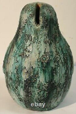 Rare Bitossi Aldo Londi Pottery Penguin Bank MID Century Modern Eames Era Italy