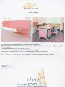 Rare Vintage Gio Ponti Desk/Shelf (Italian, Ponti, Albini, Parisi, Campo, Eames)
