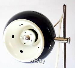 Space Age Italian Lamp 70s Goffredo Reggiani Vintage Design Globe Blue Sciolari