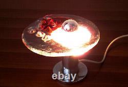 Space Age Table Lamp Murano Glass Toni Zuccheri Venini Sciolari Mazzega Nason