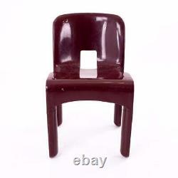 VTG MCM Joe Colombo Kartell Plastic Chairs Pair