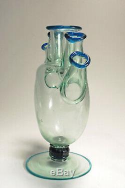 Venini Cinque Bocche or tulip vase, Napoleone Martinuzzi, Murano