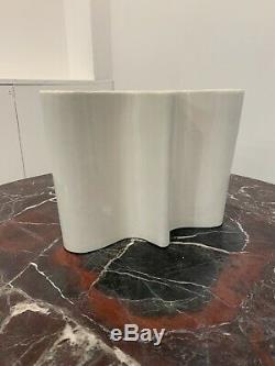 Vintage Free Form Vase Attrib. To Angelo Mangiarotti Modernism Modernist MCM