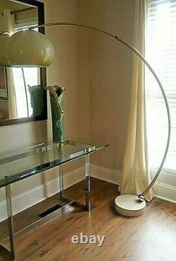 Vintage Italian Arc Floor Lamp by Goffredo Reggiani for Guzzini