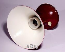 Vintage Italian Table Lamp 50s 60 TV Cone Mid Century Design Stilnovo Modernism