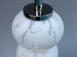 Vintage Murano Glass Table Lamp Mid Century Modern