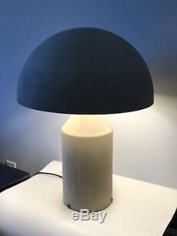 Vintage Vico Magistretti Metal Oluce Atollo Dome Lamp -italy Italian Modern 1977