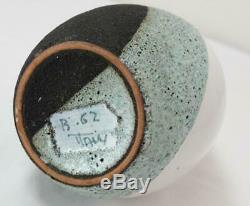 Vtg MCM Ettore Sottsass Bitossi Memphis Group Pottery Lava Glaze Raymor Vase