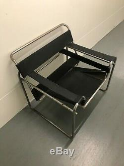 Wassily Style Chairs Original Design By Marcel Breuer for Knoll