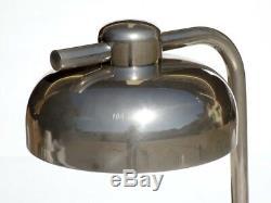 1970 Design Italien Par Paolo Salvi Vintage Marbre Travertin Lampe De Table