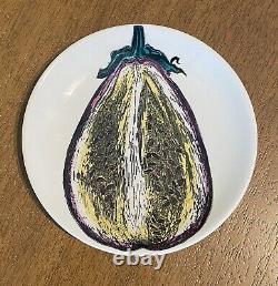 5 Fornasetti Milano Vtg MID Century Modern Frutta Fruit Plate Coaster Italie