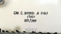 Aldo Londi Gatto Tigrato Tiger Cat Rare Édition Limitée Bitossi Made In Italy