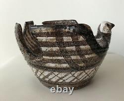 Bitossi Aldo Londi Bird Bowl Moderna Marocco Rosenthal Netter Milieu Du Siècle