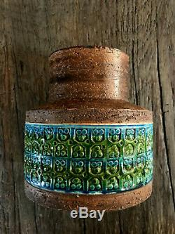 Bitossi Aldo Londi Italien Vase / Poterie Céramique Navire