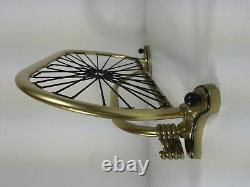 Century Vintage MID Spider Brass Mur Cintre Hat Rack 50 Ans Italie Armoire