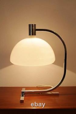 Énorme Franco Albini Lampe De Bureau De Table Du Milieu Du Siècle Modern Design 50s Sirrah Verre