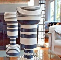 Ettore Sottsass Calice Vase Poterie Bitossi Memphis Made In Italy