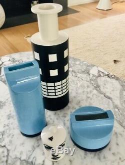 Ettore Sottsass Fischietto Whistle Vase Habitat 2000 Édition Memphis