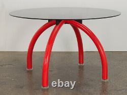 Ettore Sottsass Red Spyder Table À Manger
