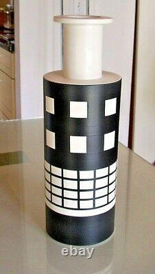 Ettore Sottsass Rocchetto Vase Poterie Bitossi Memphis Made In Italy