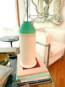 Ettore Sottsass Vase 541 Bitossi Vert Made In Italy