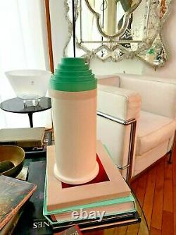 Ettore Sottsass Vase 541 Verde Bitossi Fabriqué En Italie